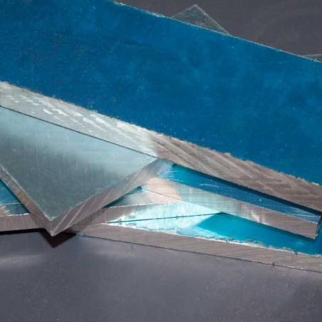 Placa Aluminio en bruto 205X62X15mm