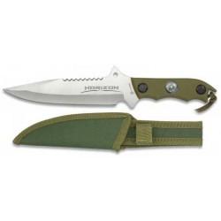 Cuchillo Albainox Horizon verde hoja 18 cm