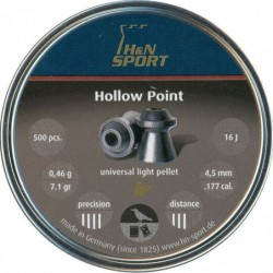 Balines H&N Hollow Point 4.5