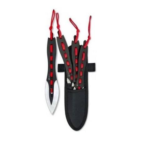 Cuchillo Albainox Set3 Lanzadores 31857