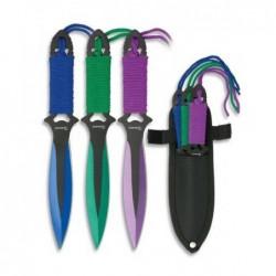 Set 3 lanzadores Albainox Colores 32136