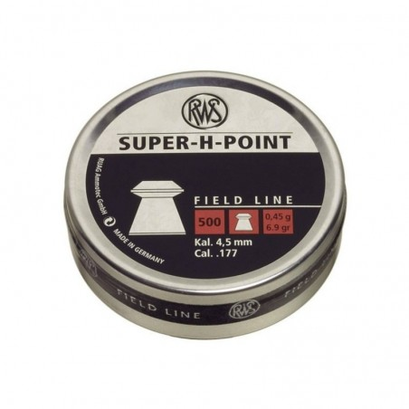 Balines RWS Super H Point 4.5 500 unidades