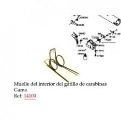 Muelle torsión 14100