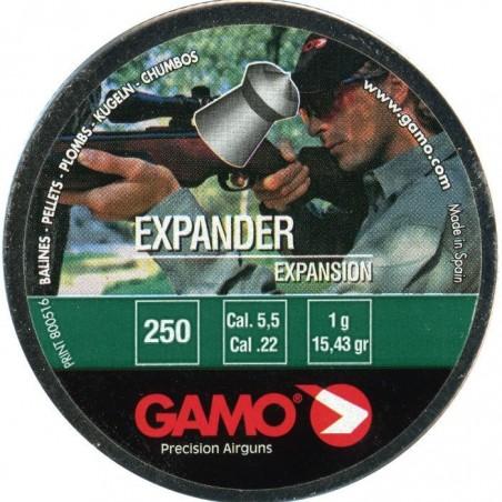 Balines Gamo Expander Cal 5.5 Lata Metal (250 ud)