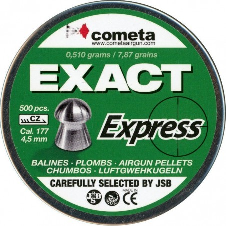 Balines Cometa Exact Express 4,5 500 unidades