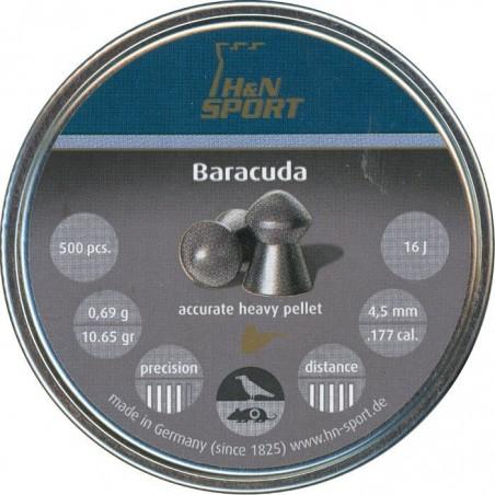 Balines H&N Baracuda 4.5 lata 500 piezas