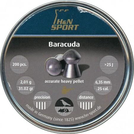 Balines H&N Baracuda 6.35 200 unidades