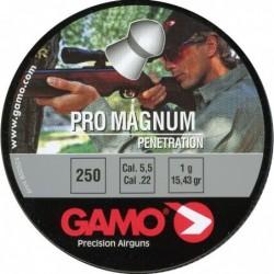 Balines Gamo Pro Magnum Cal. 5.5 Lata Metal 250 unidades