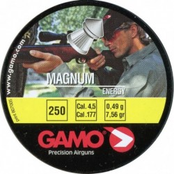 Balines Gamo Magnum Cal. 4.5 Lata Metal 250 unidades