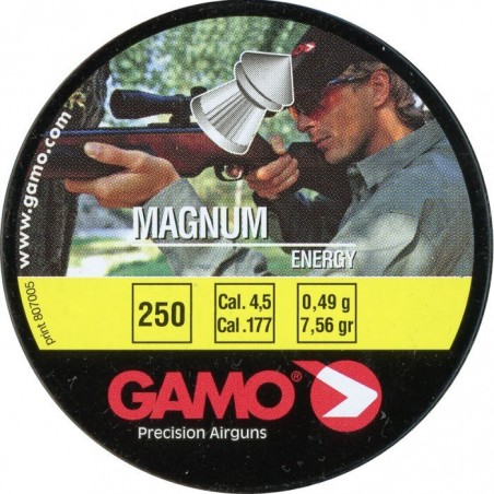 Balines Gamo Magnum Energy Cal. 4.5 Lata Metal 250 unidades