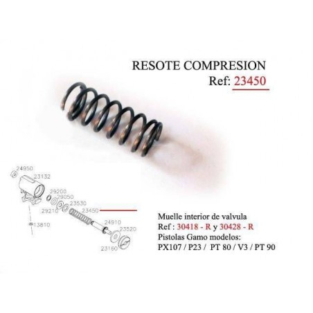Resorte Compresion 23450