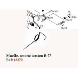 Muelle torsión 18370