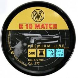 Balines RWS R10 MATCH 4.5 Pistola