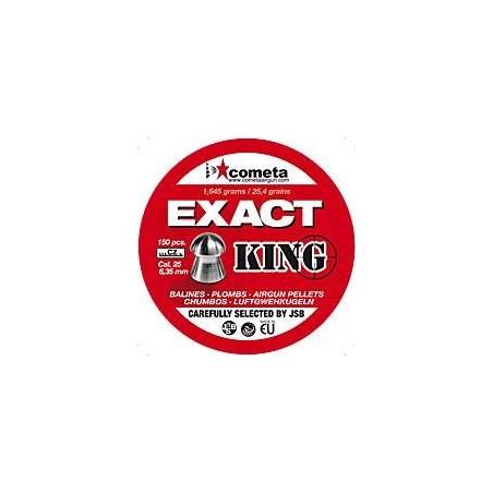 Balines Cometa Exact King 6.35 150 unidades