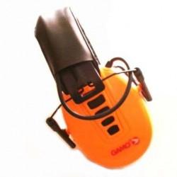 Cascos de Tiro Gamo Naranja Protectores oidos
