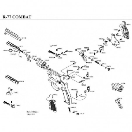 1 Gamo R-77 Combat Despiece