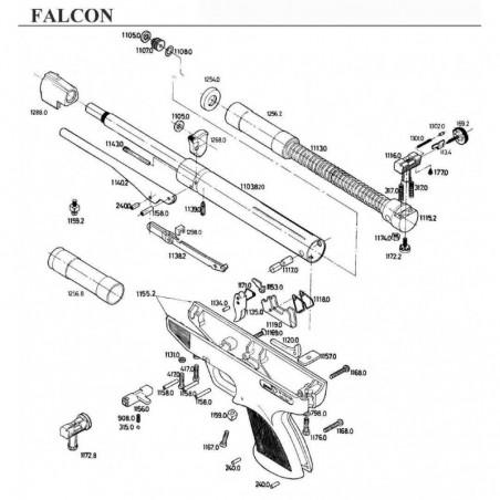 1 Gamo Falcon Despiece