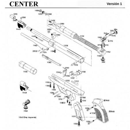 1 Gamo Center Versión 1 Despiece