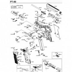 1 Gamo PT-80 Despiece