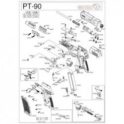 1 Gamo PT-90 Despiece