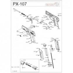 1 Gamo PX-107 Despiece