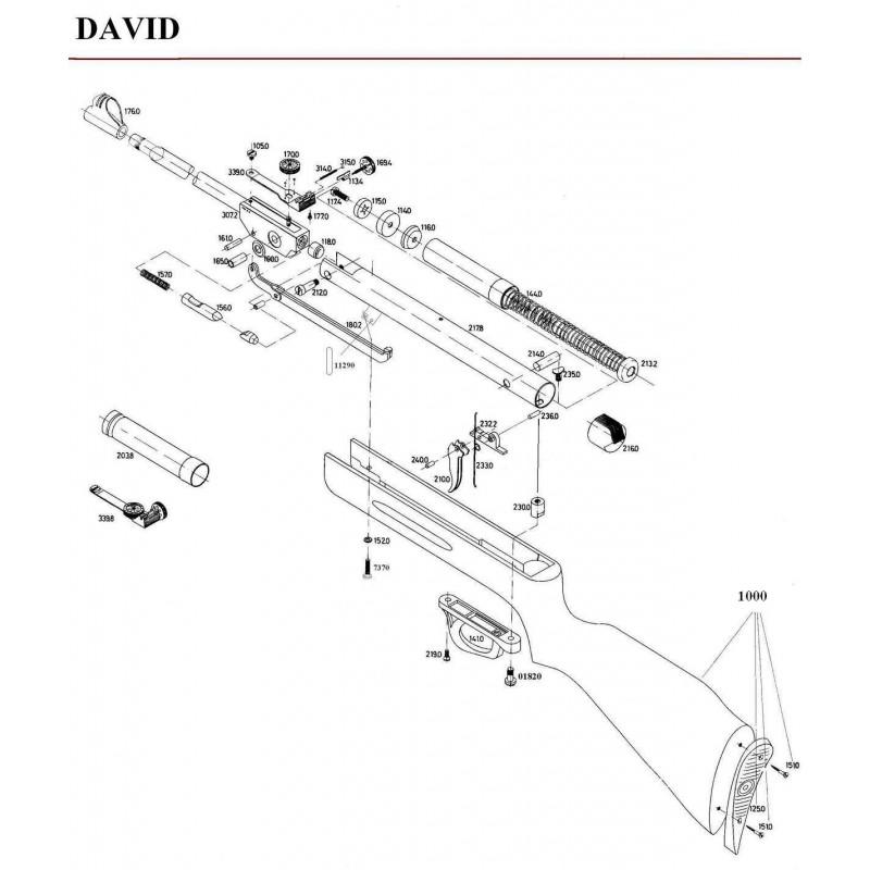 1 Gamo David Despiece