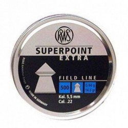 Balines RWS SuperPoint Extra 5.5 500 unidades