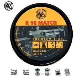 Balines RWS R10 Match 4,5 Carabina
