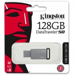 Pendrive Kingston 128 gb DataTraveler 50