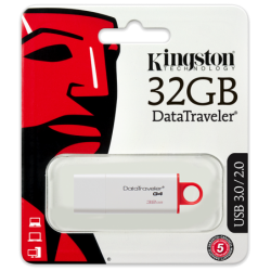 Pendrive Kingston 32 GB Datatraveler G4 USB 3.1