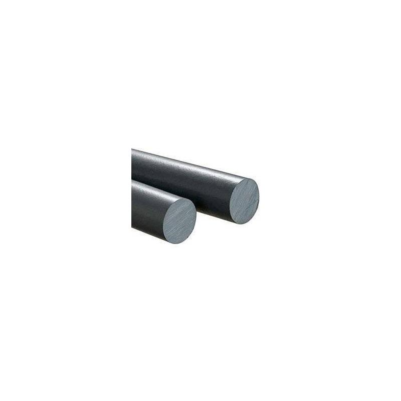 PVC Cilindro Gris Macizo 5mm X 50 Cm.