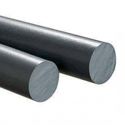 PVC Cilindro Gris Macizo 35mm X 50 Cm.