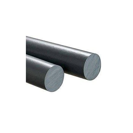 PVC Cilindro Gris Macizo 50mm X 50 Cm.