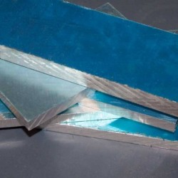 Placa Aluminio en bruto 140X110X10mm