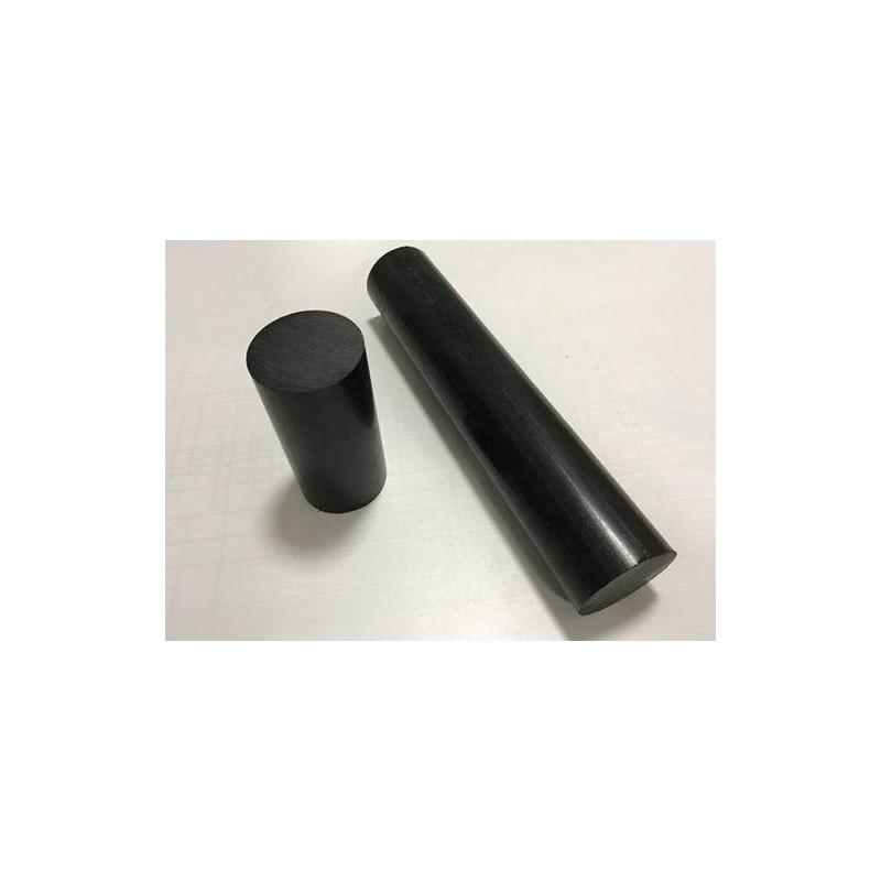 Nylon Cilindro Negro Macizo 15mm X 50 Cm.