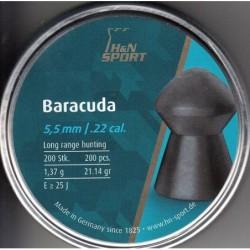 Balines H&N Baracuda 5.5 200 unidades