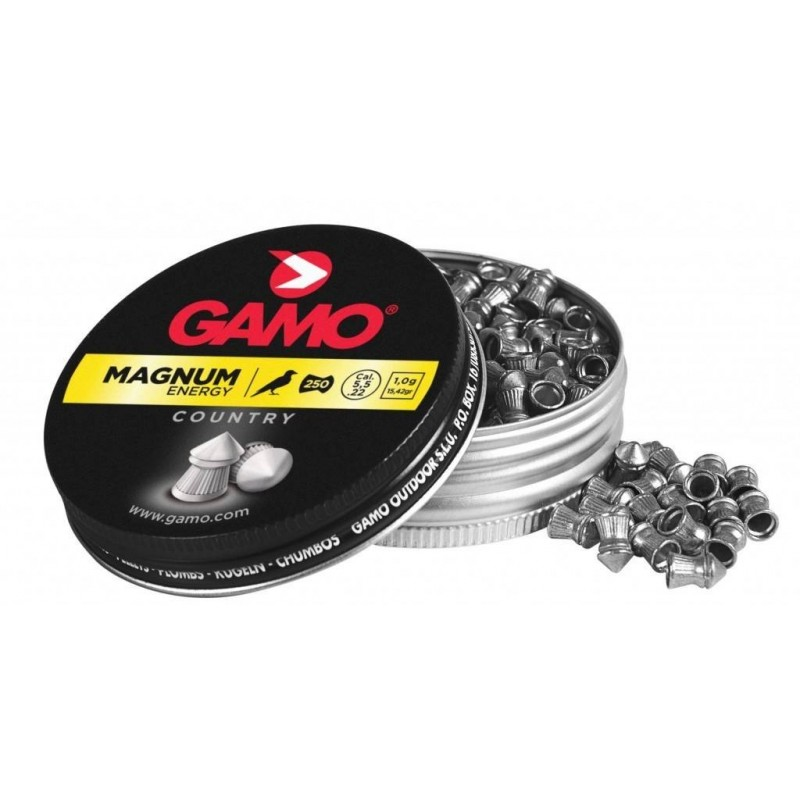 Gamo Magnum Cal. 5.5 Lata Metal 250 unidades