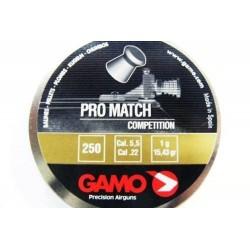 Balines Gamo Pro Match Cal 5.5 lata 250 unidades