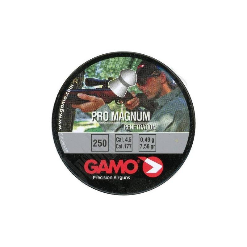 Gamo Pro-Magnum Cal. 4.5 Lata Metal 250 unidades.