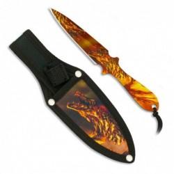 Cuchillos lanzadores 3D Dragon Albainox 17 cm