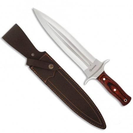 Cuchillo Rematador Albainox. Stamina roja. hoja 23.5 Cm