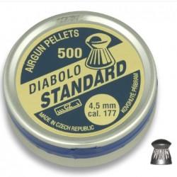 Balines DIABOLO STANDARD 4.5 (500 piezas)