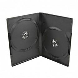 Estuche caja DVD doble fino