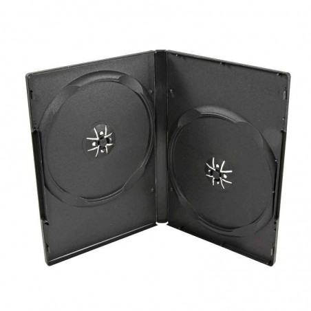 Estuche caja DVD doble 7mm