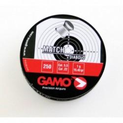 Balines Gamo Match Diabolo 5.5 Caja Metal 250 unidades
