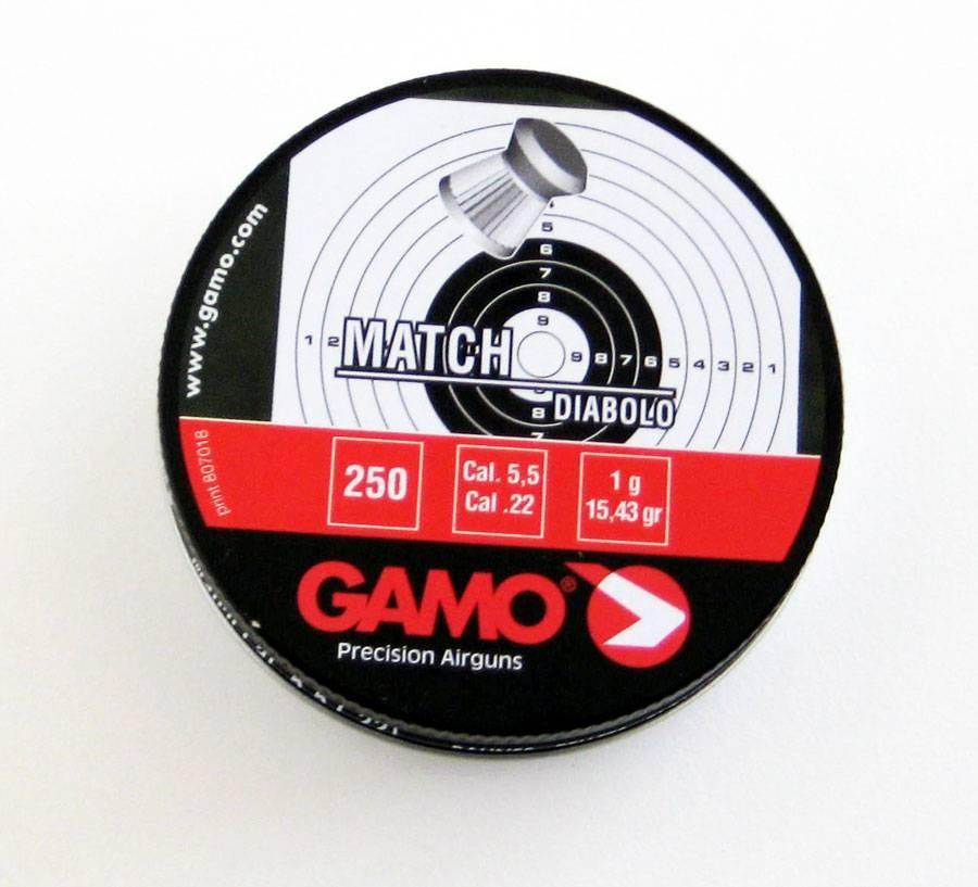 BALINES MAGNUM DIABOLO 250  CALIBRE 5,5 MM GAMO