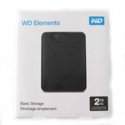 Disco duro HD Western Digital Elements 2TB USB 3.0 2.5""