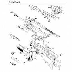 1 Gamo 68 Despiece