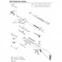 1 Gamo Hunter Maxima Despiece