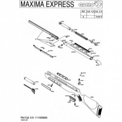 1 Gamo Maxima Express Despiece